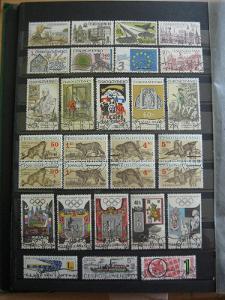 Sestava ražených známek s původním svěžím lepem (29 x) - H-1-119