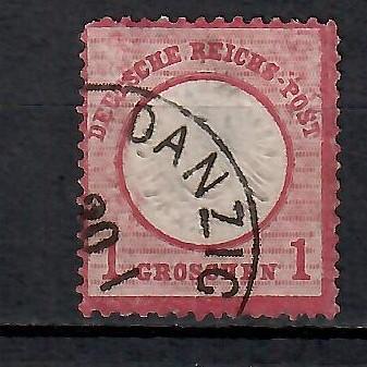293 - Německo DR 1872, Mi 19, eur 5