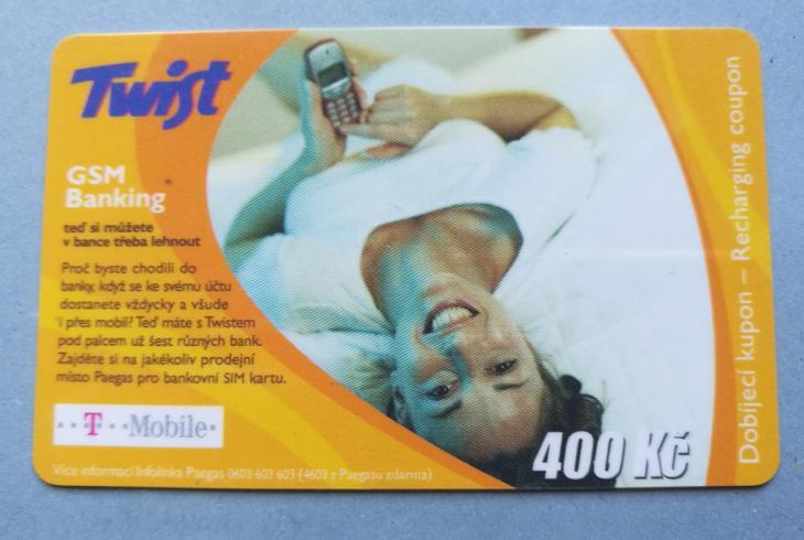 Dobijecí karta mobil - Telefonní karty