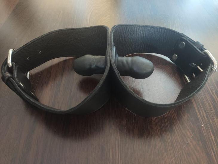 Roubík kožený dvojitý (Mr-S-Leather) - Pomůcky, příslušenství