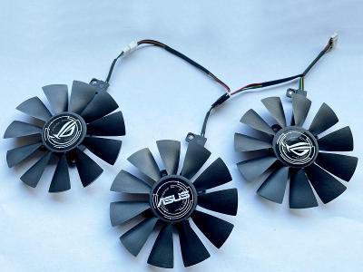 Ventilátor sada 87mm pro ASUS STRIX GTX 980ti 1060 1070 1080 R9 390