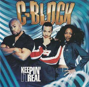 C BLOCK-  Keepin' It Real  CD 1998 hiphop