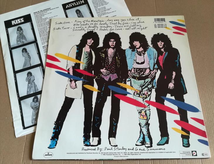 LP KISS - ASYLUM /EX, 1985 - Hudba
