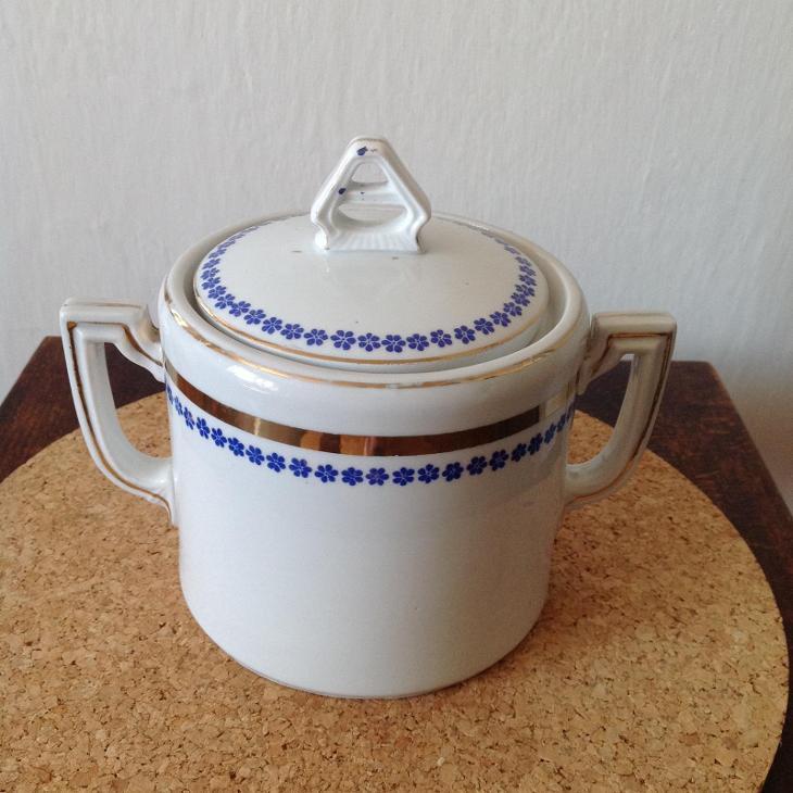 Cukřenka porcelán - Porcelán