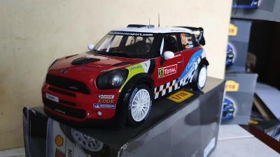 Mini Cooper Wrc works 1:18 rally D.Sordo