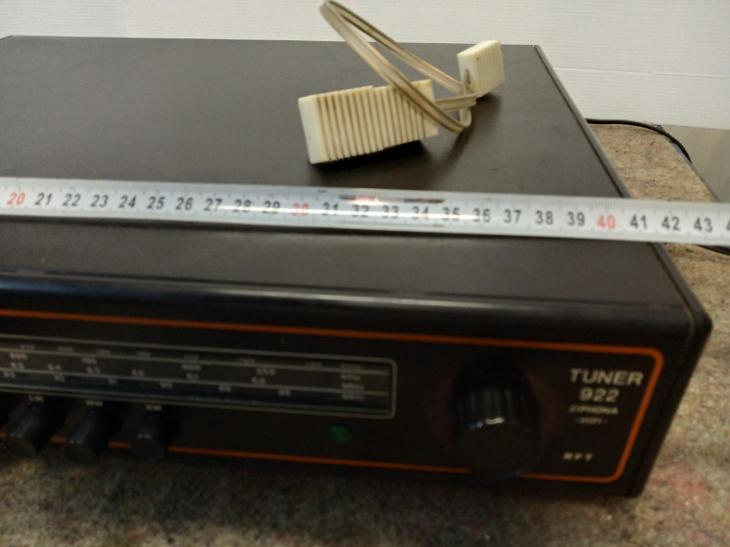 Rádio tuner RFT ZIPHONA 922 HIFI - TV, audio, video