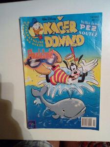 Časopis, Kačer Donald, č. 14/2002, pěkný stav