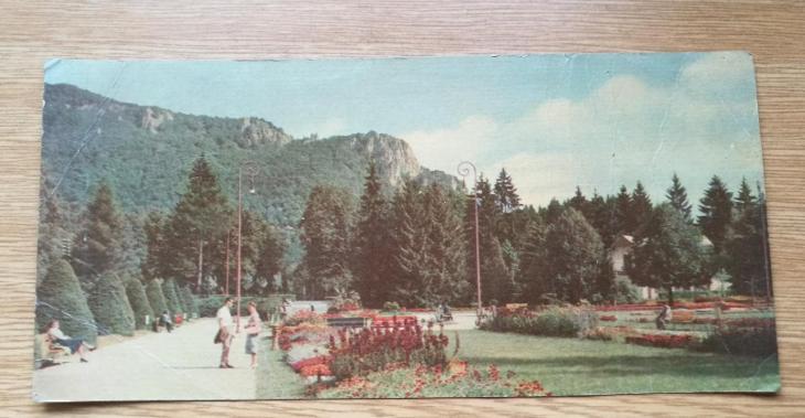 Pohled  Rájecké Teplice - Pohlednice