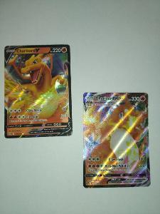 Pokémon - Charizard Vmax + Charzard V