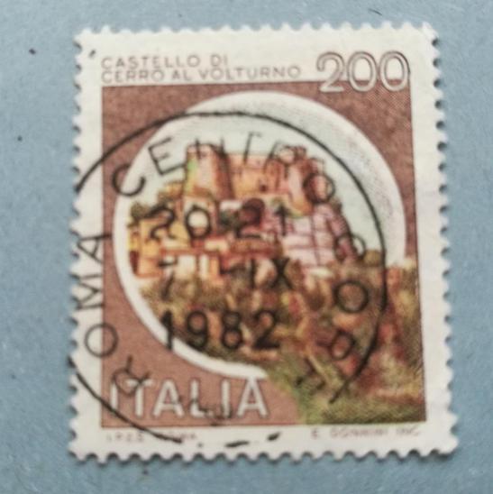 Známka -  Italie - Filatelie