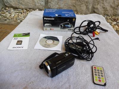 Digitální videokamera Panasonic HDC-SD40//Full hd