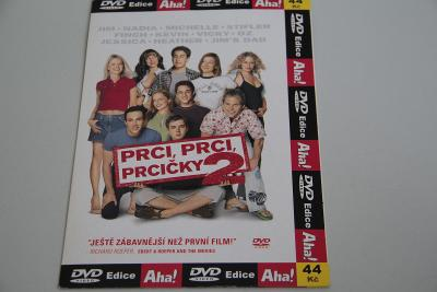 DVD Prci, prci, prcčky 2 VÍC V POPISU