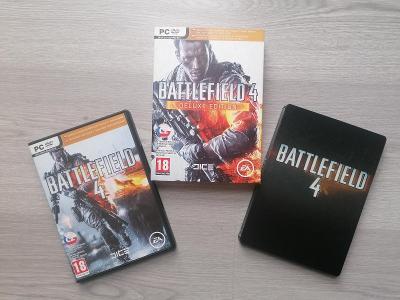 Battlefield 4 CZ Deluxe steelbook PC pro sběratele