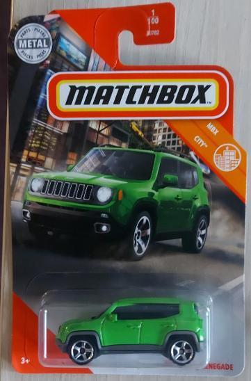 Matchbox - 19´ Jeep Renegade