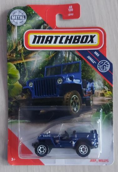 Matchbox - Jeep Willys
