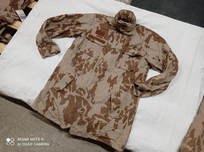 K24 - Pouštní kabát - kongo ačr vz.95 vel. 182/100 bavlna