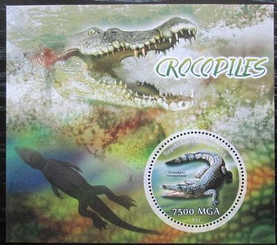 Madagaskar 2014 Krokodýli Mi# N/N 2080