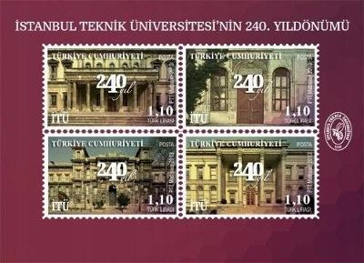 Turecko 2013 známky Aršík Mi 102 ** Polytechnika technická univerzita