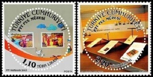 Turecko 2013 známky Mi 4072-4073 ** filatelie Poštovne muzeum