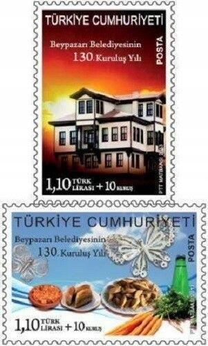 Turecko 2013 známky Mi 4037-4038 ** tradiční jídlo gastronomie