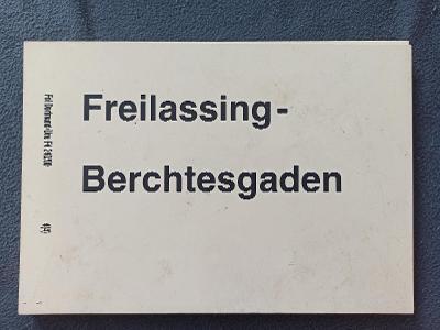 Směrová cedule DB - RB (Freillasing - Berchtesgaden)