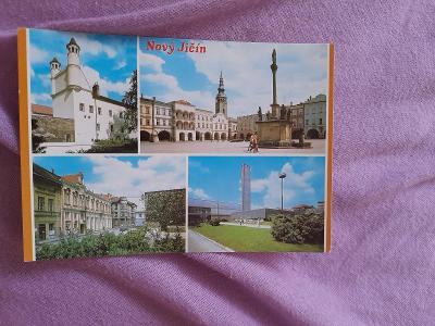 Pohlednice Nový Jičín, prošlé poštou