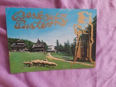 Pohlednice Beskydy - Pustevny,prošlé poštou
