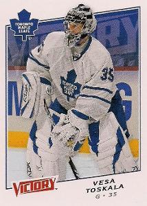 Vesa Toskala - Toronto Maple Leafs - Victory