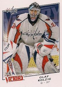 Olaf Kölzig - Washington Capitals - Victory