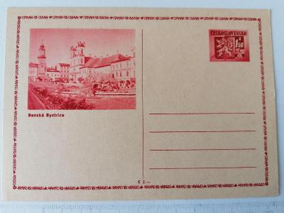 Starý korespondenční lístek Bánská Bystrica