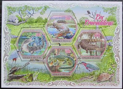 Pobřeží Slonoviny 2018 Krokodýli Mi# Mi# N/N 2098