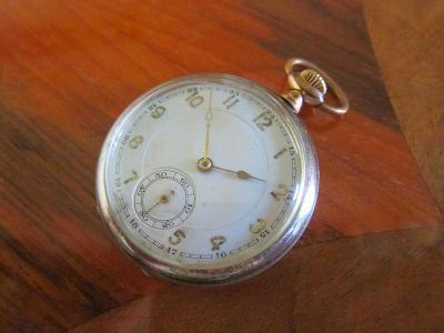 Starožitné kapesní hodinky  - funkční