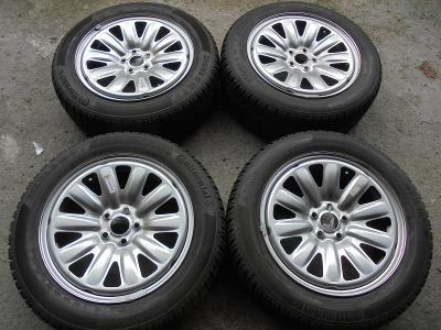 205 55 16 zimní+16 plech Subaru BRZ, Impreza, 5x100, ET48 NOVÉ 4kusy