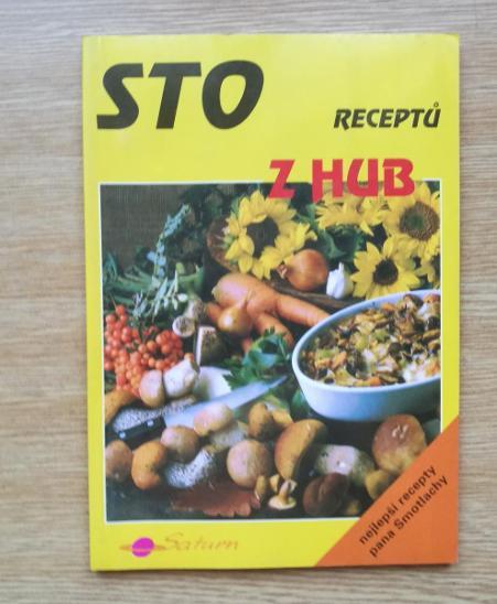 Kniha - sto receptů z hub - Knihy