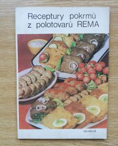 Kniha - receptůry pokrmů z polotovarů Rema