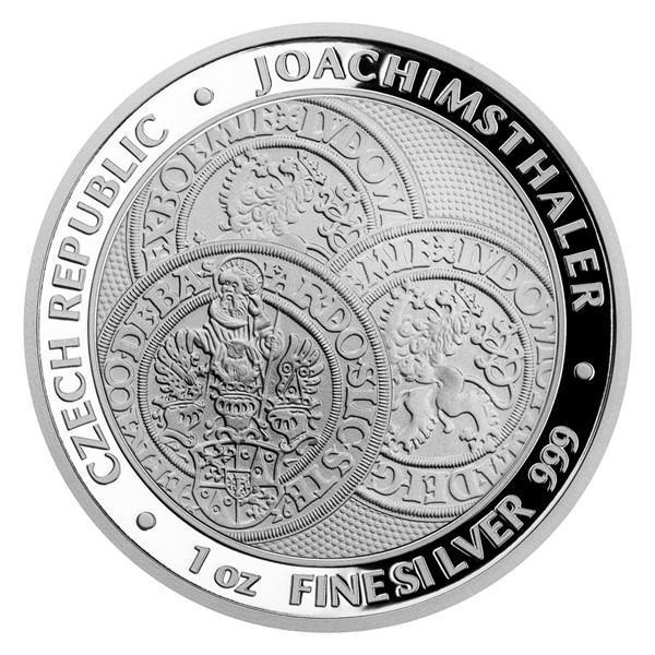 Stříbrná investiční mince 1 oz Tolar - ČM 2021 proof číslovaná blistr - Numismatika