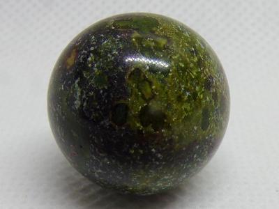 Jaspis - Dračí Krev - Leštěná koule - Minerál- 10 g Madagaskar TOP A++