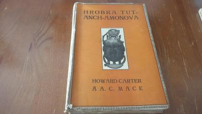 H.Carter-Hrobka Tut-anch-amonova-1925-Egypt-nalez faraóna-archeologie