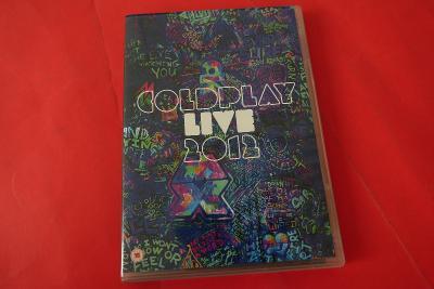 DVD Coldplay Live 2012 / včetně brožury s texty