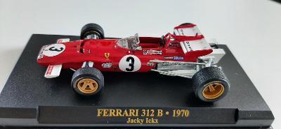 MODEL  F1 FERRARI 312 B JACKY ICKX 1970 1:43