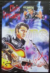 Mosambik 2016 Elvis Presley Mi# Mi# Block 1135 Kat 10€ 2111