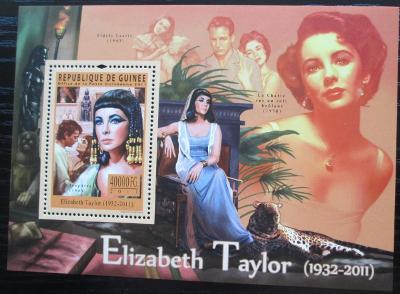 Guinea 2011 Elizabeth Taylor, herečka Mi# Mi# Block 1954 Kat 16€ 2136