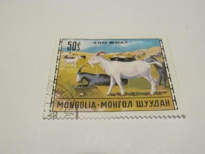 Prodávám známky Mongolsko 1971, Kozy