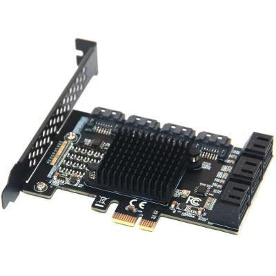 PCI-E řadič SATA 10x ASM1062