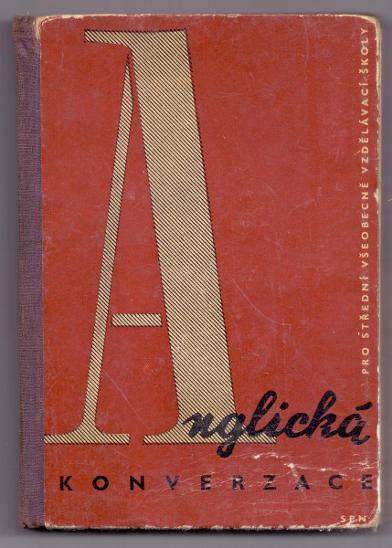 retro ANGLICKÁ KONVERZACE # 1963 - Učebnice