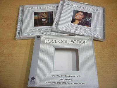 2 CD-SET: SOUL COLLECTION / Barry White, The Supremes, G.Gaynor...
