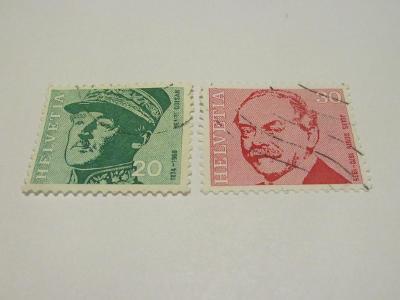 Známky Švýcarsko 1969, Slavné osobnosti