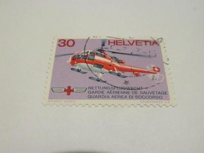 Známky Švýcarsko 1972, Švýcarská záchranná služba / Červený kříž /
