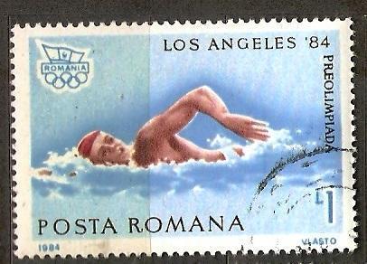 Sport Romania 1984 LOH Los Angeles