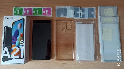Samsung Galaxy A21s (A217F) Black 32GB, top stav!